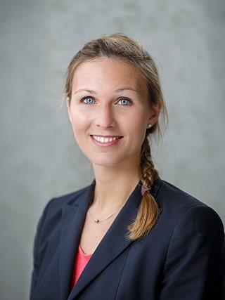 Pressesprecherin Carmen Molitor