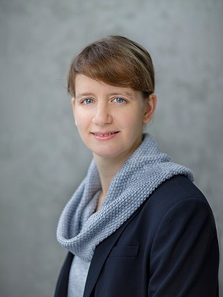 Pressesprecherin Katharina Fiegl