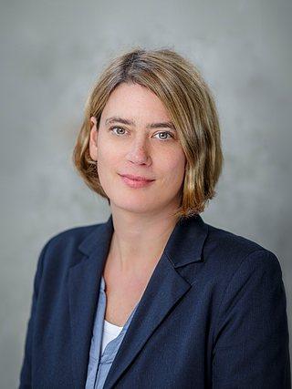 Pressesprecherin Nicola Flügemann