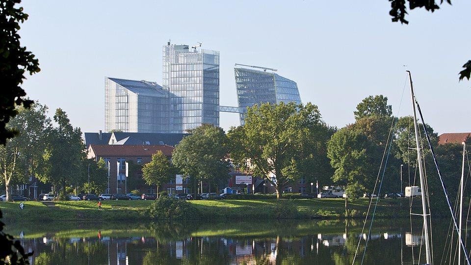 Ein attraktiver Standort: Stadt Münster als StandortfaktorLVM-Campus, Stadt Münster. das Münsterland und der LVM-Campus.