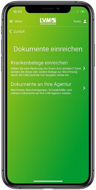LVM-App-Krankenbelege