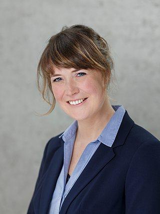 Pressesprecherin Rafaela Kiepe