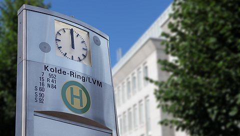 LVM als Arbeitgeber: Die Zentrale am Kolde-Ring in Münster ist gut erreichbar.