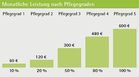 Grafik zum LVM-Pflege-Bahr