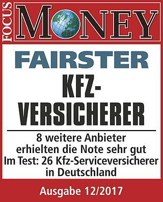 FOCUS MONEY: LVM ist fairster Kfz-Versicherer