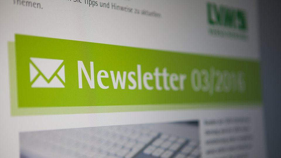 Abbonieren Sie unseren Newsletter