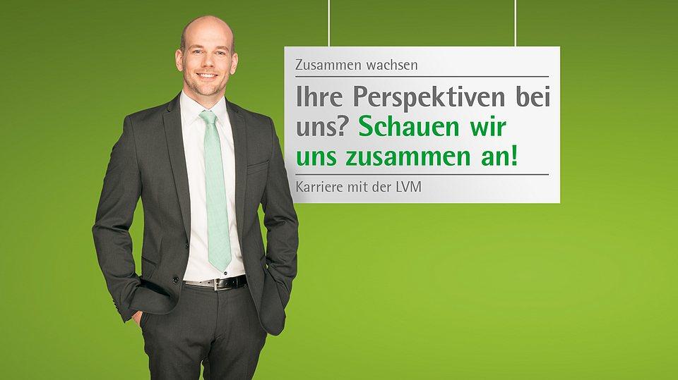 Jobmessen, auf denen sich die LVM Versicherung als Arbeitgeber präsentiert.