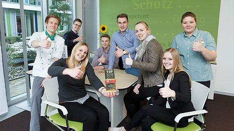 LVM-Presseservice im Internet: Start der neuen Auszubildenden bei der LVM.
