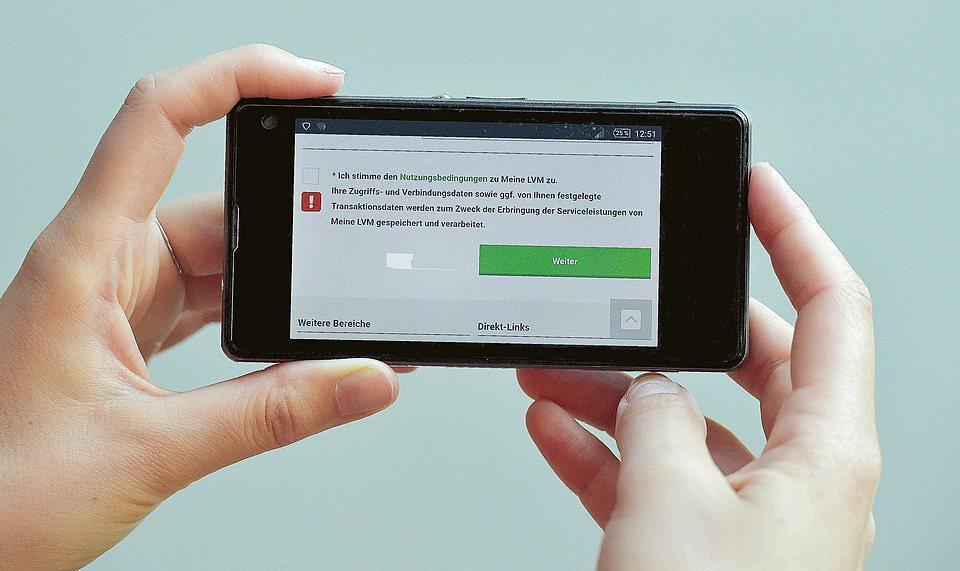 LVM als Versicherer: Datenschutzerkärungen für die LVM-Apps