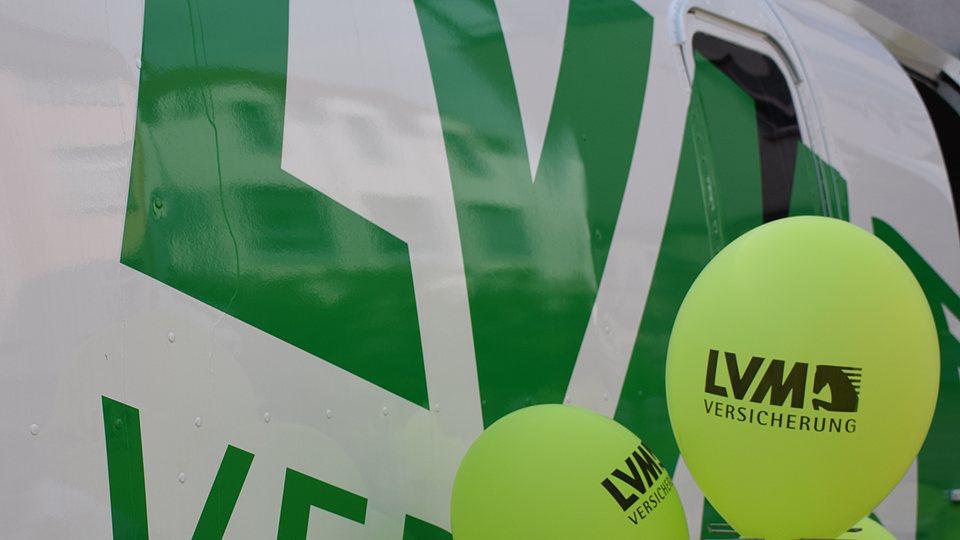 LVM als Förderer: Online-Formular für Sponsoring- und Spendenanfragen.