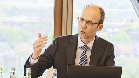 LVM-Presseservice im Internet: Dr. Kleuker im Pressegespräch zu den Geschäftszahlen 2017