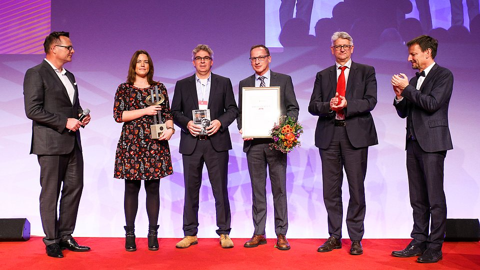 LVM als Arbeitgeber: Auszeichnugn mit dem Otto Heinemann Preis 2018