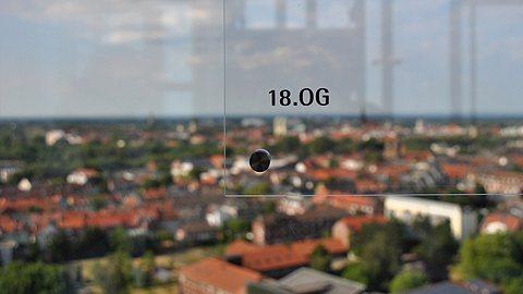 Webcam mit Blick ins Münsterland.