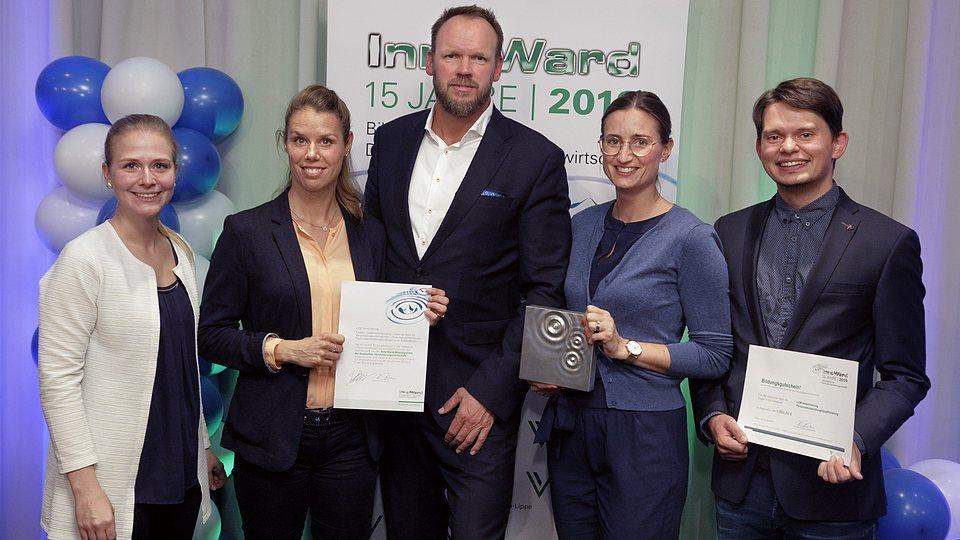 LVM als Arbeitgeber: Auszeichnungen - InnoWard 2019